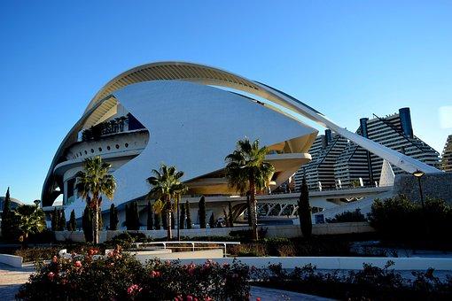 Valencia, Architecture, Spain, Modern, City, Building