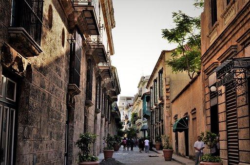 City, Old, Cuba, Havana, Town, Historic