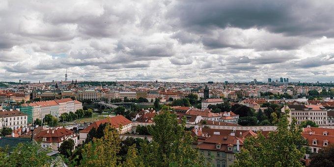Prague, Panorama, Czech Republic, Panorama Of The City
