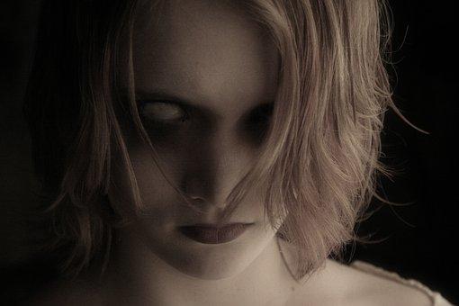 Eye, Scary, Make-up, Dolls, Horror, Creepy, Dark