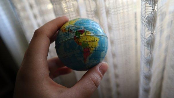 World, Hand, Planet, Global, Day, Earth, Globe
