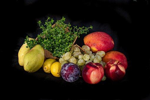 Fruits, Naturmort, Citrus, Ripe, Just Fruits, Health