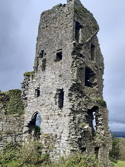 Carrigogunnell, Castle, Ruins, Ireland, Middle Ages