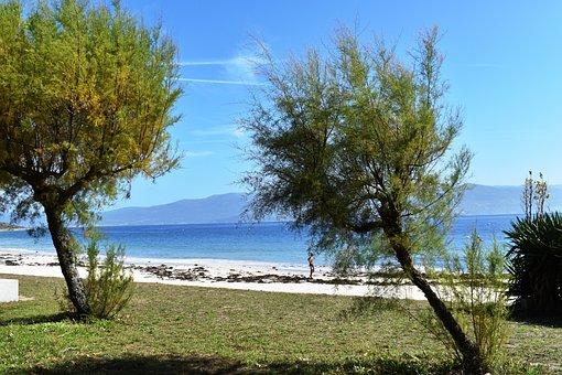 Beach, Sea, Sand, Summer, Ocean, Sky, Costa, Landscape