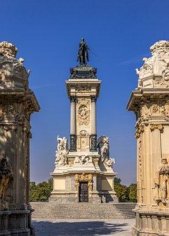 Madrid, Spain, Architecture, City, Buildings, Building