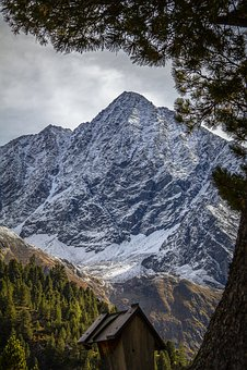 Schrankogel, ötztal, Mountains, Alpine, Tyrol, Austria