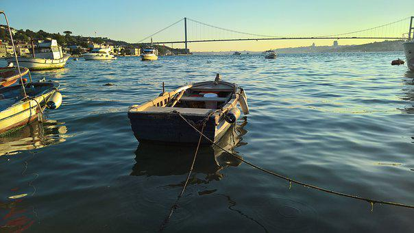 Offer, Ship, Water, Istanbul, Landscape, City