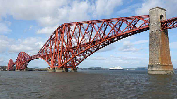 The Forth Bridge, Railway Bridge, Steel, Queensferry