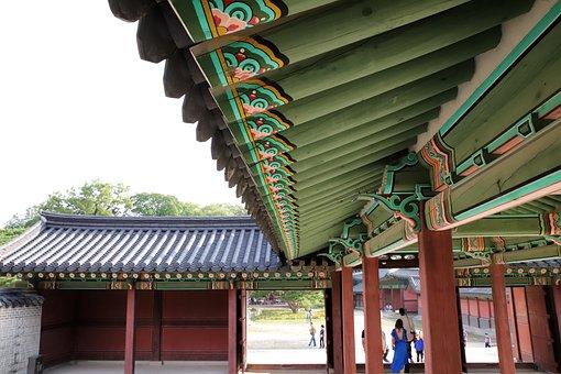 Mono, Changdeokgung, Forbidden City, Republic Of Korea