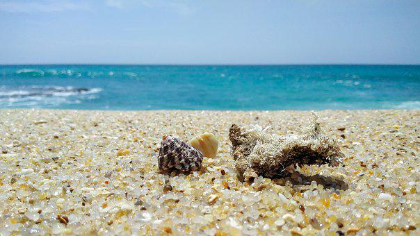 Sri Lanka Beach, Sea, Beach, Water, Ocean, Sand, Sky