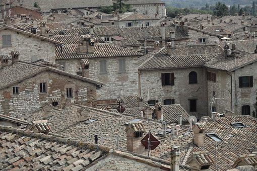 Sea Of Houses, Italy, Historical, Architecture, City