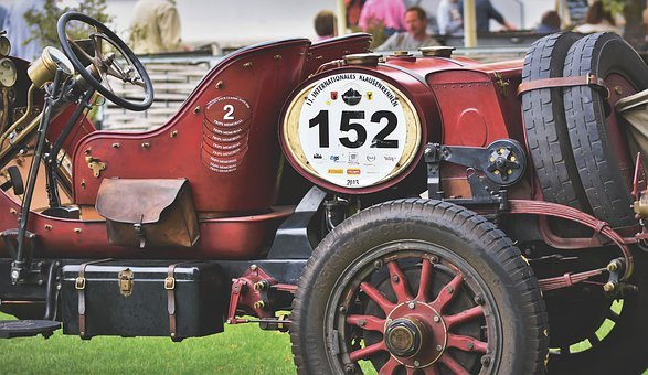 Locomobile M48, Racing Car, Oldtimer, Sports Car