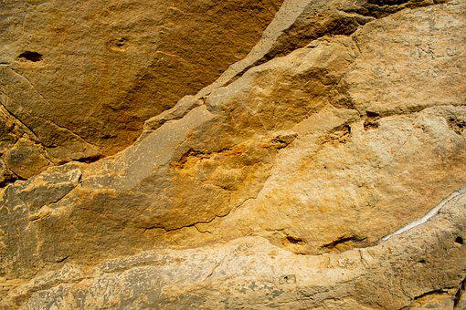 Sand Stone, Background, Structure, Yellow, Stone, Rock
