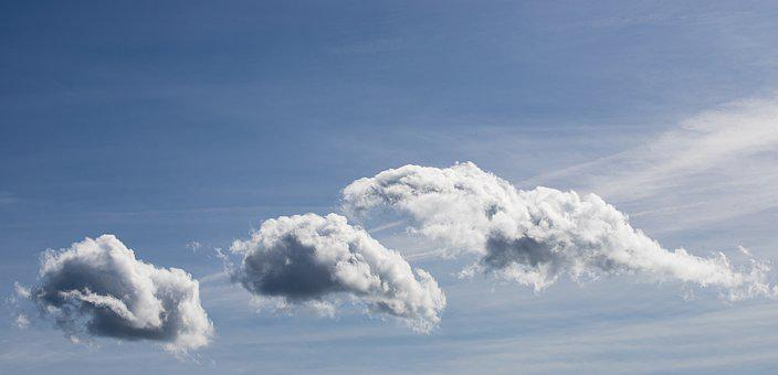 Clouds, Sky, Cumulus Clouds, Weather, Nature