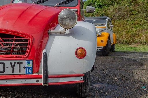 Citroën, 2cv, Automobile, Car, Vintage, Old, Collection
