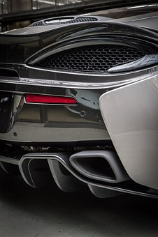 Mc Laren, Sports Car, Back Light, Auto, Luxury, Sport