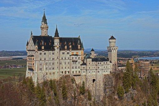 Kristin, Castle, Germany, Bavaria, Architecture, Füssen