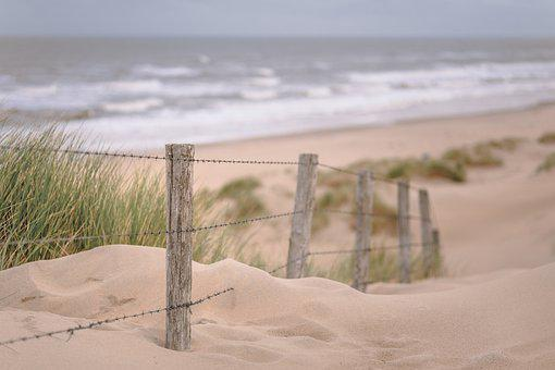 Beach, Sea, Twilight, Landscape, Waves, Water, Ocean