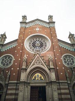 Church, Architecture, Historical, Building, Religion