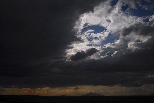Storm, Africa, Sky, Clouds, Landscape, Weather, Travel