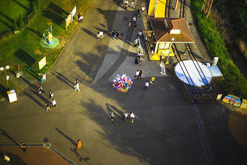 Amusement Park, Ferris Wheel, Fun, Entertainment, Park