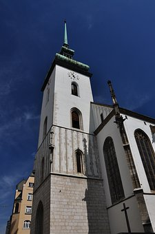 Church, The Church Of St, Jakub, Jacob In Brno