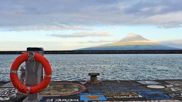 Azores, Sea, Ocean, Landscape, Water, Clouds, Mar