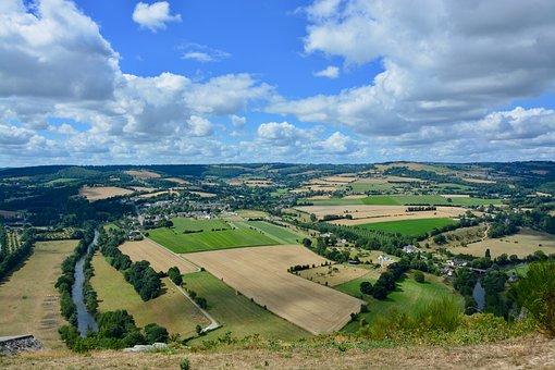 Panoramic Views, Panorama View, Landscape, Fields