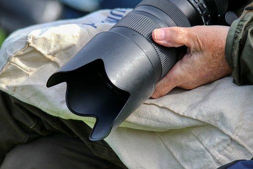 Photographer, Camera, Lens, Reporter, Photo