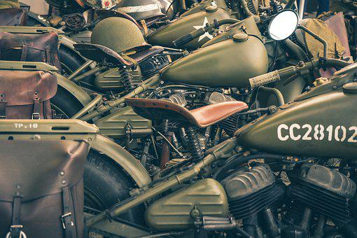 Second World War, War, Motor, Liberation