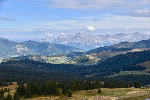 Landscape, Panoramic Views, Mountain, Haute-savoie
