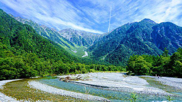 Mountain, Mt, Hiking, Nature, Mountain Scenery, River