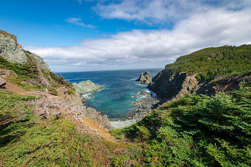 Newfoundland, Canada, Bay, Devils Cove, Ocean