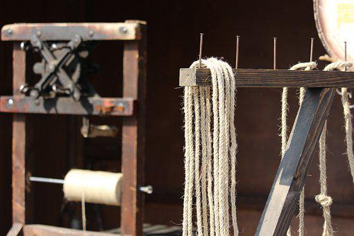Rope-maker, Rope Making, Historically, Craft, Old