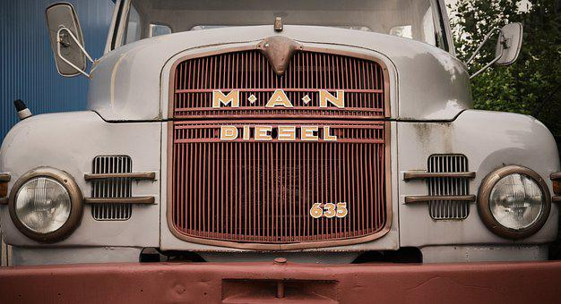 One, Truck, Oldtimer, Classic, Transport