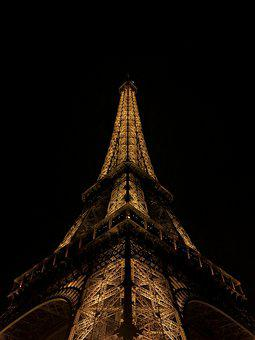 Eiffel Tower, Paris, France, Landmark, Europe, Travel