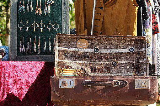 Flea Market, Antique, Junk, Antiques, Used, Sale