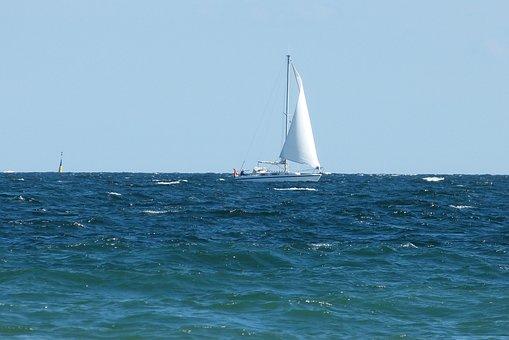 Baltic Sea, Sailing Boat, Sea, Sail, Water, Ship, Boat