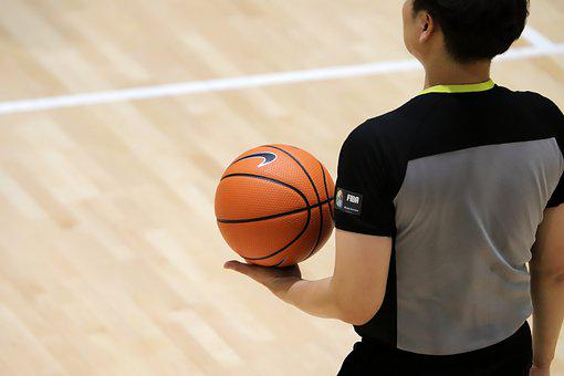 Basketball, The Referee, Games, Sport, Ball