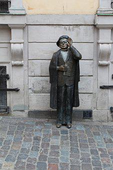 Stockholm, Old Town, Statue, Bronze
