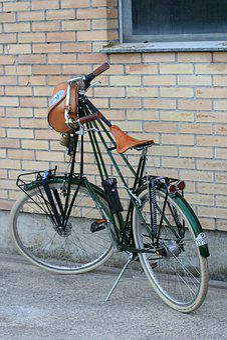 Velo, Bike, Suspension Saddle, Cycling, Nostalgia