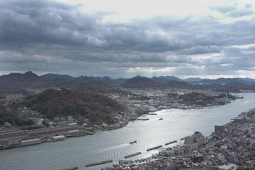 Onomichi, Setouchi, Stu, Seto Inland Sea, Umi, Sea