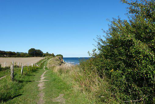 Baltic Sea, Cliff, Coast, Sea, Nature, Vacations