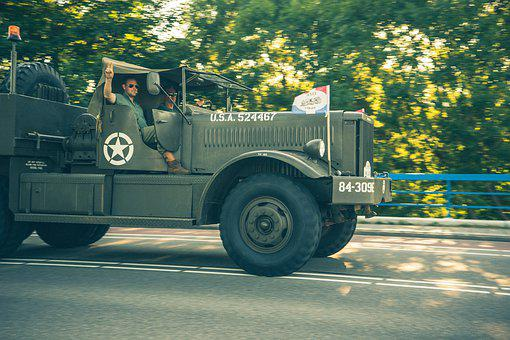 Second World War, War, Truck, Liberation
