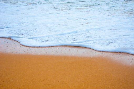 Wave, Beach, Sand, Froth, Sea, Ocean, Water, Summer