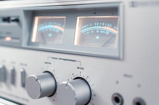 Amplifier, Hi, Sound, Bass, Volume, Cursor, Stereo