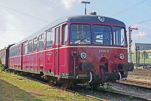 Battery Railcar, Deutsche Bundesbahn, Historically