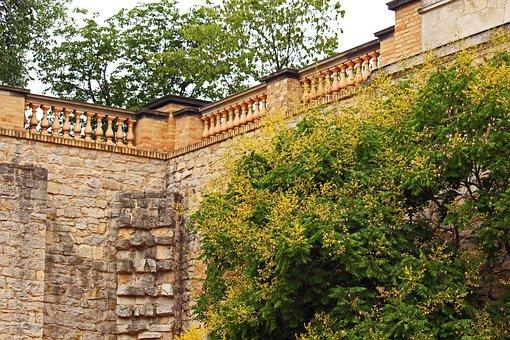 Belvedere Castle, Pfingstberg, Potsdam, Courtyard
