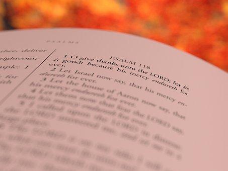 Thanksgiving, Psalm, 118, Bible, Christian, Religion