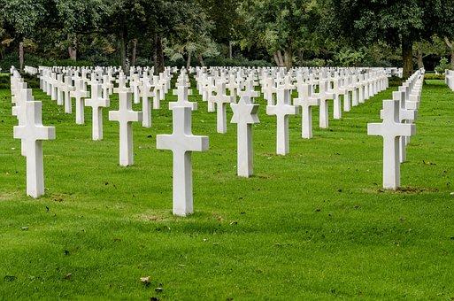 Cemetery, American, Colleville-sur-mer, Normandy